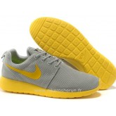 Nike Roshe Run pour Homme Grise Jaune Mesh Roshe Run Camouflage Chaussure De Securite