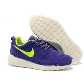 Nike Roshe Run Chaussure pour Femme Pourpre Blanc Acheter Roshe Run Magasin