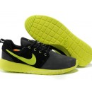 Chaussures Nike Roshe Run Mesh Homme Noir Fluorescent Nike Rosh Run Homme Officiel