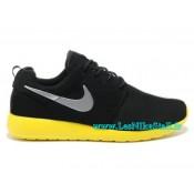 Nike Flyknit Roshe run Noir-Turquoise Nike Roshe 2015 Montre Running