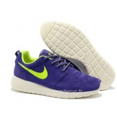 Chaussures Nike Roshe Run Slip on Femme Ciel Blanc Nike Roshe Run Site Officiel