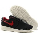 Nike Roshe Run pour Femme Noir Blanc Rouge Mesh Nike Roshe Run Blanche Chaussures De Basket