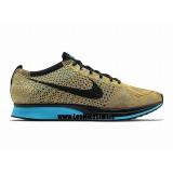 Nike Roshe Run pour Homme Noir Jaune Basket Running