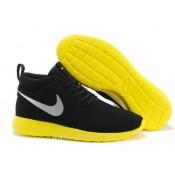 Nike Roshe Run Mid Chaussure pour Homme Noir Nike Roshe Run Mid Chaussures Montante