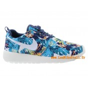 Nike Roshe Run Chaussure pour Homme Bleu Fonc Boutique