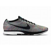 Chaussures Nike Roshe Run Mesh Couple Femme Gray Chaussure Fille