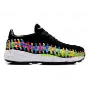 Chaussures Nike Roshe Run Homme Noir Blanc Argent Nike Roshe Run Noir Solde Basket