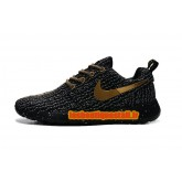 Nike Flyknit Roshe run noir-noir Nike Roshe Run Noir Magasin D Usine
