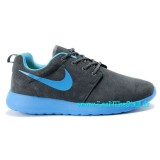 Chaussures Nike Roshe Run Mesh Homme Sombre Vert Magasins Paris