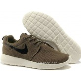 Chaussures Nike Roshe Run Mesh Homme Sombre Vert Magasins Paris