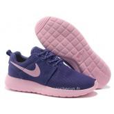 Nike Roshe Run Chaussure pour Femme Pourpre Rose Nike Roshe Run Prix Store France