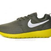 Chaussures Nike Roshe Run Mesh Homme Army Vert Nike Roshe Run Shop Boutique Paris