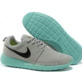 Nike Roshe Run pour Femme Grise Rose Bleu Mesh Nike Roshe Run Soldes Nouvelle Mercurial