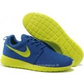 Nike Roshe Run Chaussure pour Femme Bleu Fonc& Rosh Run Nike Femme Basket Running