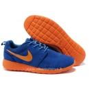 Chaussures Nike Roshe Run Homme Bleu Marine Orange Rosh Run Vetement De Sport