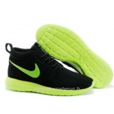 Nike Flyknit Roshe run Noir-Gris Rosh Run Site Officiel