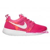 Chaussures Nike Roshe Run Dyn FW Femme Noir Orange Rosh Run Chaussures Futsal
