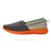 Chaussures Nike Roshe Run Slip on Homme Orange Rosh Run Running Shoes