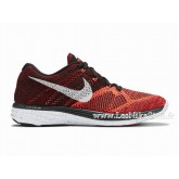 Nike Roshe Run Chaussure pour Homme Noir Rouge Rosh Run Rouge Soldes Chaussures