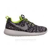 Nike Femmes Roshe run Imprimer Noir-Blanc Roshe Run 2015 Chaussure De Securite