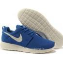Nike Roshe Run Chaussure pour Homme Bleu Blanc Roshe Run Blanc Court Tradition