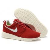 Nike Roshe Run pour Femme Rouge Blanc Roshe Run Bleu Reduction Store