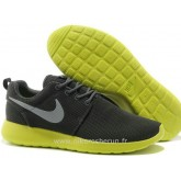 Chaussures Nike Roshe Run Femme Coal Noir Lemon Roshe Run Bleu Vente Privee