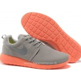 Chaussures Nike Roshe Run Mesh Homme Gray Orange Roshe Run Enfant Store Factory