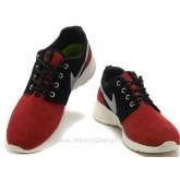 Chaussures Nike Roshe Run Suede Homme Rouge Noir Roshe Run Homme Store Bastille