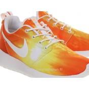 Nike Roshe Run Mango Sunset formateurs Hommes 2015 Magasin