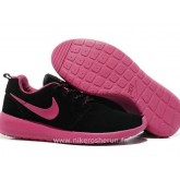 Nike Roshe Run Suede Chaussure pour Homme Noir Chaussure Running