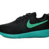 Nike Roshe Run Chaussure pour Homme Noir Bleu Magasins Paris