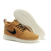 Chaussures Hazel Brun Roshe Run Mid Black Chaussures Montantes