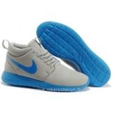 Nike Roshe Run Mid pour Homme Loup Gris Hyper Roshe Run Mid Boutique En Ligne