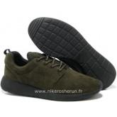 Nike Roshe Run pour Homme Brun Roshe Run Noire Factory Merignac