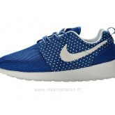 Chaussures Nike Roshe Run Femme Bleu Blanc Amour Roshe Run Nouvelle Collection