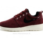 Nike Roshe Run Chaussure pour Homme Wine Rouge Roshe Run Officiel