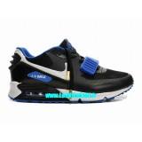 Nike Roshe Run pour Femme Dark Bleu Blanc Vert Roshe Run Solde Running Shoes