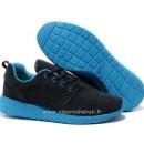 Nike Roshe Run Chaussure pour Homme Noir Bleu Roshe Run Supreme Chaussures De Basket